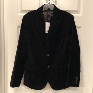Target Goodfellow & Co. Men's black velvet blazer